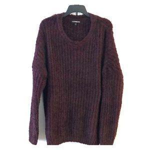 Express women's large soft sweater